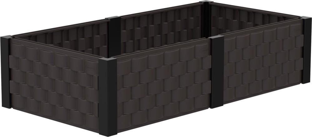 Duramax 86102 Square Garden Bed (Brown)