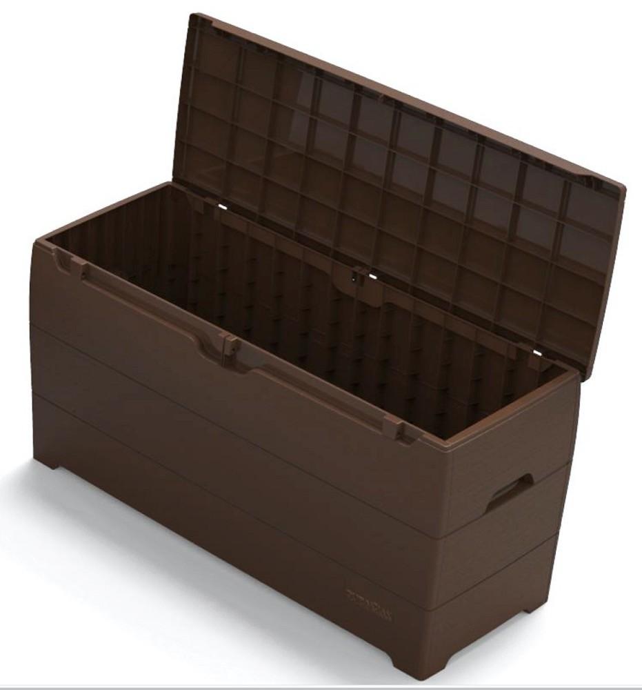Duramax 86601 Deck Box (Brown)