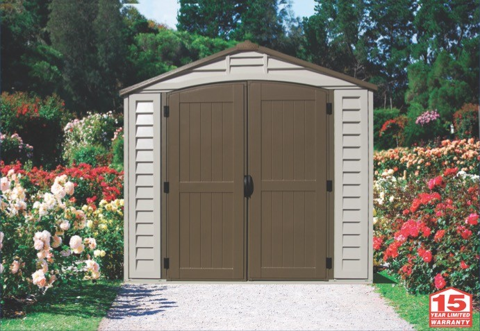 Duramax 30114 - 8x8 DuraPlus Vinyl Shed With Foundation