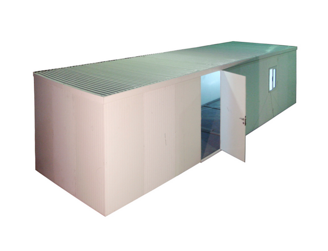 Duramax 34432 Flat Top Insulated Building 3' Extension
