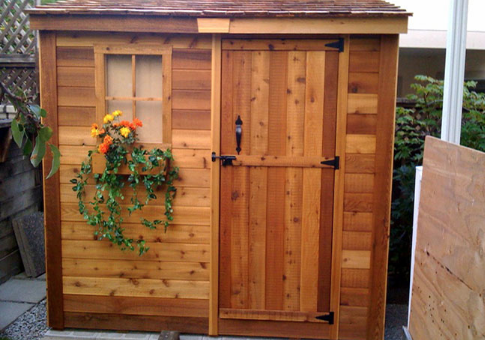 Outdoor Living Today - 8x4 Space Saver Lean To Style Shed