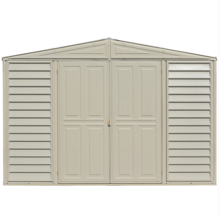 Duramax 00221-1M - 10.5x8 Woodbridge Vinyl Shed  (Non- Extendable)