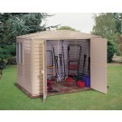 Duramax 00184 – 8'x5.25' Stronglasting DuraMate Vinyl Shed & Foundation
