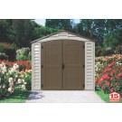 Duramax 30114 - 8x8 DuraPlus Vinyl Shed With Foundation -