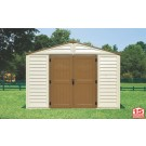 Duramax 40214 - 10x8 Woodbridge Plus Vinyl Shed  With Foundation