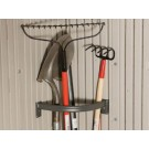 Wall-Mounted Tool Corral