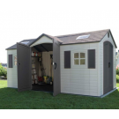 Lifetime 60079 15'x8' Dual Entry Storage Shed