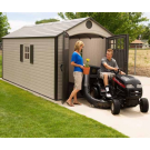 Lifetime 60121 8'x17.5' Outdoor Storage Shed