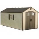 Lifetime 60120 8'x20' Outdoor Storage Shed