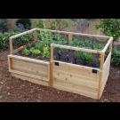 Outdoor Living Today - 6x3 Raised Cedar Garden Bed