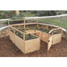 Outdoor Living Today - 8x8 Raised Cedar Garden Bed
