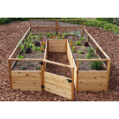 Outdoor Living Today - 8x12 Raised Cedar Garden Bed