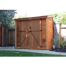 Outdoor Living Today - 8x4 Space Saver Lean To Style Shed with Double Doors