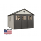 Lifetime 60187 11'x11' w/9' Tri-Fold Doors Storage Building