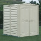 Duramax 00711/00782 – 5'x5' Yardmate Garden Vinyl Shed Includes Floor