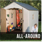 Best all around shed, Lifetime 6405
