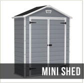 Best mini shed, Keter Manor 6x3