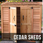 Best Cedar shed, Outdoor Living Today