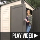 lifetime 6405 8x10 shed video