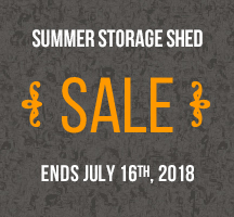 every day deals on garden sheds